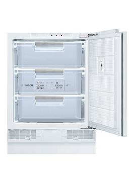 Bosch Serie 6 Gud15A50Gb 60Cm Built-In Under Counter Freezer - White