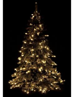 6ft-flocked-pre-lit-downswept-christmas-tree