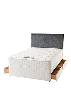 sealy-nina-1200-pocket-backcare-memory-divan-with-optional-storage