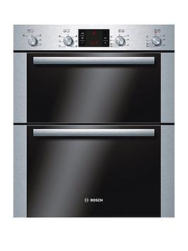 bosch-hbn43b250b-classixx-60cm-built-under-electric-double-oven-brushed-steel