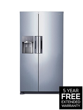 samsung-rs7667fhcsleu-frost-free-american-style-fridge-freezer-with-twin-cooling-plustrade-system-silver