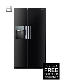Samsung RS7667FHCBC/EU Frost-Free American-Style Fridge Freezer with Twin Cooling Plus™ System - Black