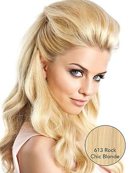 Photo of Beauty works volume boost 100 remy human hair 22 inch hair piece