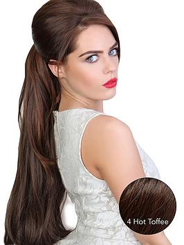 Photo of Beauty works volume straight synthetic hair pony piece