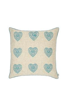 catherine-lansfield-vintage-hearts-cushion--nbspduck-egg