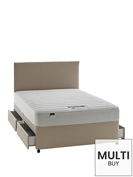 silentnight-miracoil-3-celine-memory-divan-with-optional-storage-and-half-price-headboard-offer-buy-and-save