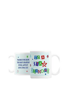 personalised-star-grandad-mug