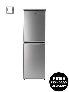 Hoover HVBS5162AK 55cm Fridge Freezer - Silver