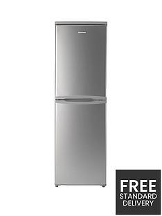 Hoover HVBS5162SK 55cm Fridge Freezer - Silver