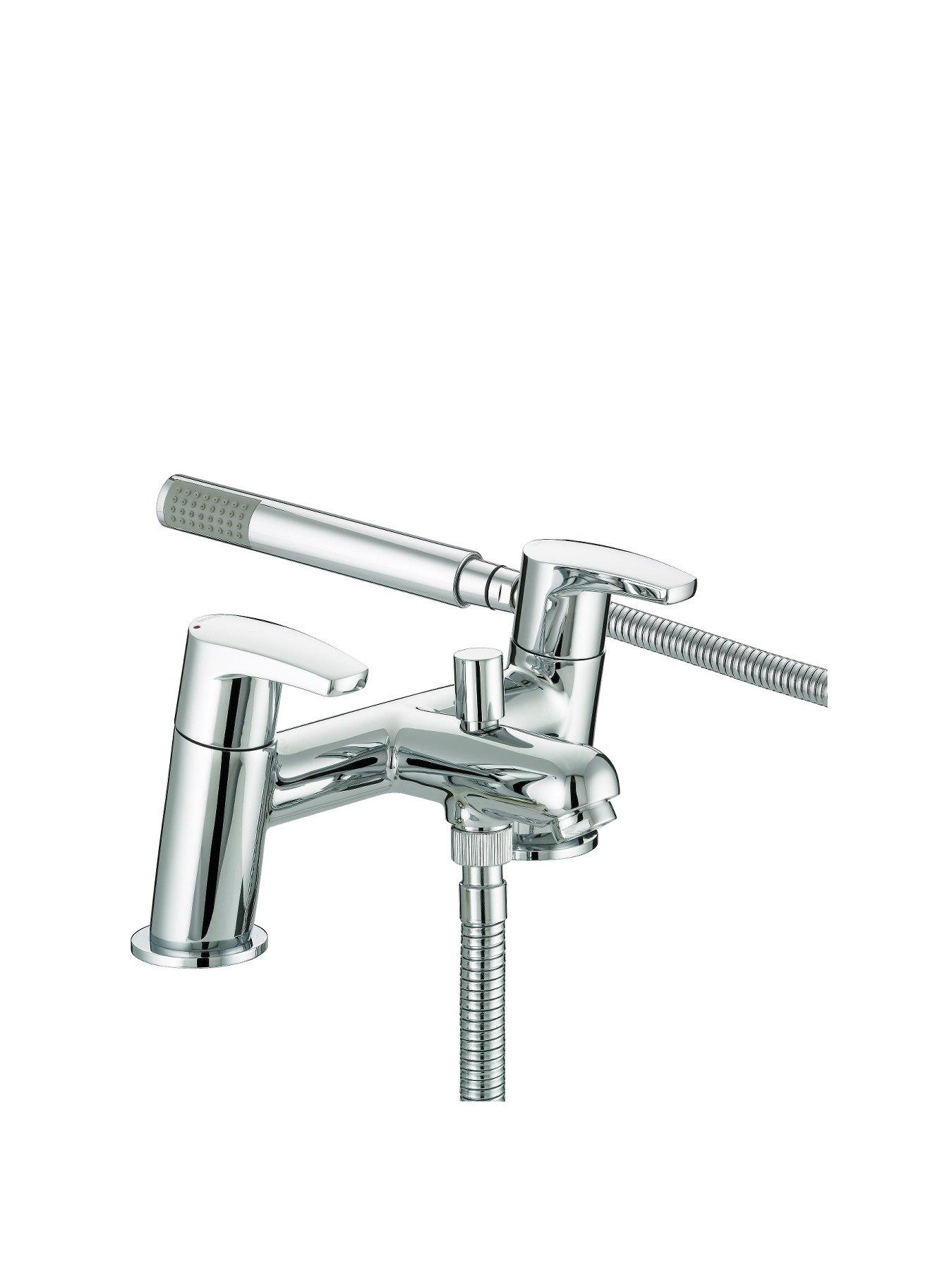 bristan orta bath shower mixer tap chrome