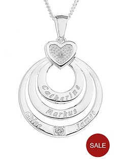 the-love-silver-collection-personalised-sterling-silver-diamond-set-3-disc-pendant