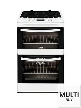 zanussi-zcv48300wa-55cm-ceramic-electric-double-oven-white