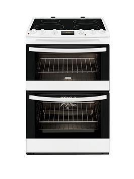 zanussi-zci68300wa-60cm-electric-induction-double-oven-white