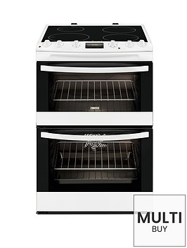 zanussi-zci68300wa-60cm-electric-induction-double-oven-white