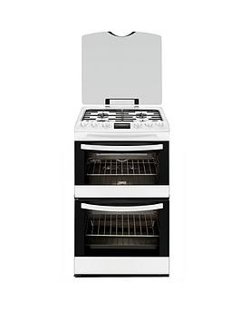 zanussi-zcg43200wa-55cm-gas-double-oven-white