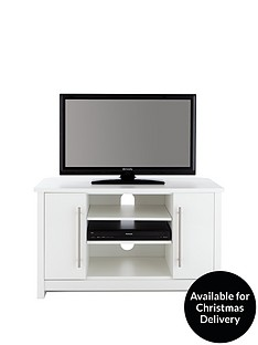 Consort Mono Ready Assembled Corner TV Unit - fits up to 43 inch TV
