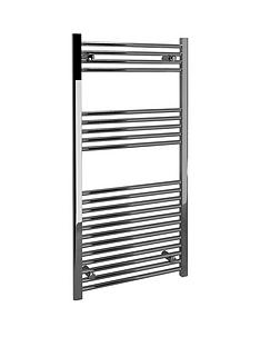 straight-heated-towel-rail-silver
