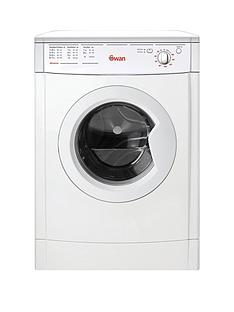 Swan STV407W 7kg Load Vented Dryer - White