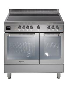 hoover-hvd9395ix-90cm-electric-range-cooker-with-ceramic-top-stainless-steel