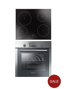 hoover-hoc709x6x-hvd604c-multifunction-single-fan-oven-with-touch-control-led-display-and-60cm-ceramic-hob