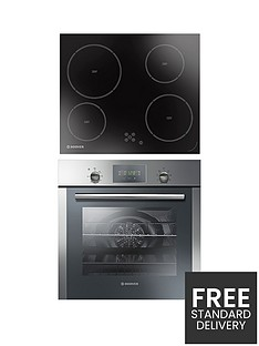 hoover-hoc709x6x-amp-hvd604c-multifunction-single-fan-oven-with-touch-control-led-display-and-60cm-ceramic-hob
