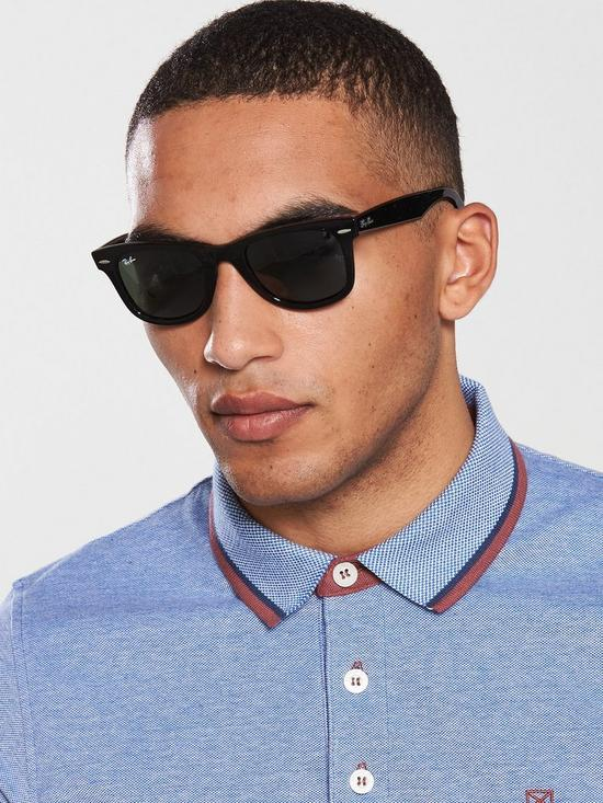 30283b82f Ray-Ban ORB2140 Wayfarer Sunglasses | very.co.uk