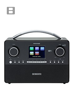 roberts-stream-93i-dabdabfmwifi-internet-radio-with-3-way-speaker-system