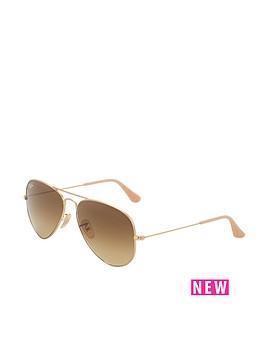 ray-ban-aviator-sunglasses-rose-gold