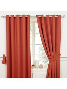 Orange | Bedroom | Curtains | Curtains & blinds | Home & garden ...