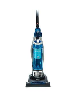 Hoover Blaze Pets Th71 Bl02001 Bagless Upright Vacuum Cleaner - Black/Blue/Silver