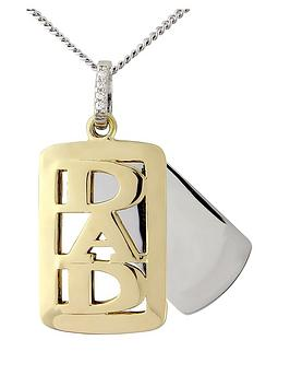keepsafe-sterling-silver-with-9-carat-gold-overlay-dad-tag-pendant