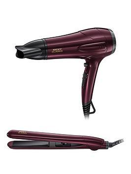 nicky-clarke-ngp227-hairdryer-and-straightener-gift-set