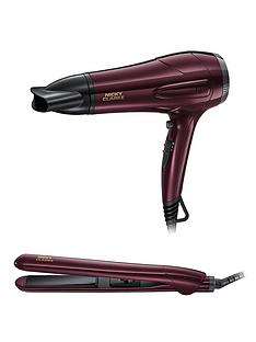 Nicky Clarke NGP227 Hairdryer and Straightener Gift Set