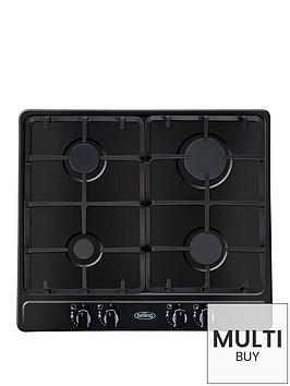 belling-ghu60gc-60cm-built-in-cast-iron-gas-hob-black