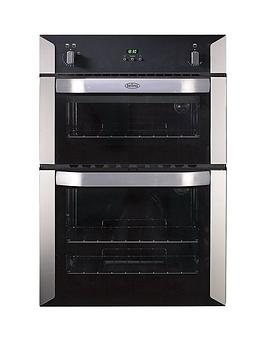 Belling Bi90G 60Cm Built-In Double Gas Oven - Stainless Steel Review thumbnail