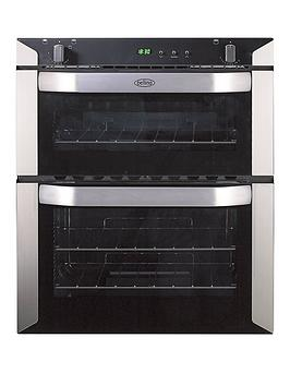 belling-bi70g-60cm-built-under-double-gas-oven-stainless-steel