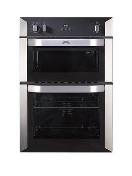 belling-bi90fp-60cm-built-in-double-fan-electric-oven-stainless-steelnbsp