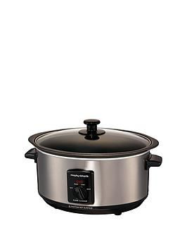 morphy-richards-48701-35-litre-slow-cooker-brushed