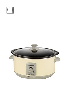 morphy-richards-460002-35-litre-slow-cooker-cream