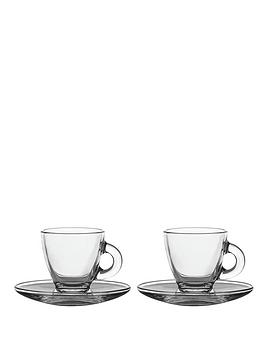 Ravenhead Entertain Glass Espresso Cup And Saucer Set Review thumbnail