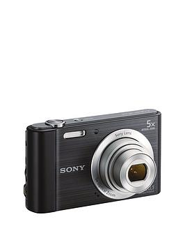 Sony Sony Cybershot Dsc W800 20.1 Mp 5X Zoom Digital Compact Camera - Black