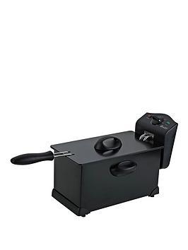 Swan Sd6042B Single Pro Fryer - Black