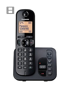 panasonic-kx-tgc220eb-cordless-telephone-with-answering-machine-and-nuisance-call-block-single