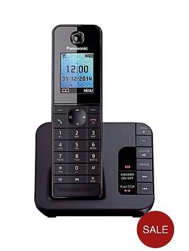 panasonic-kx-tgh220eb-cordless-telephone-with-answering-machine-and-nuisance-call-block-single
