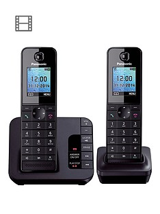 panasonic-kx-tgh222ebnbspcordless-telephone-with-answering-machine-and-nuisance-call-block-twin