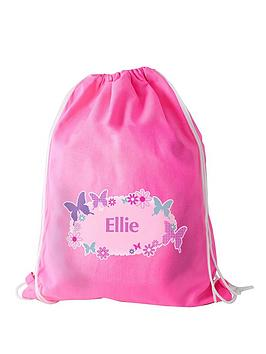 personalised-butterfly-swim-bag