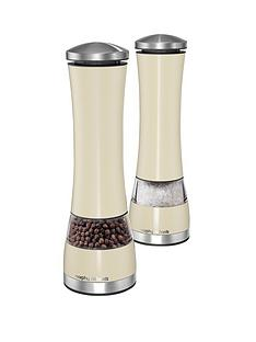 morphy-richards-electronic-salt-and-pepper-mill-set-cream
