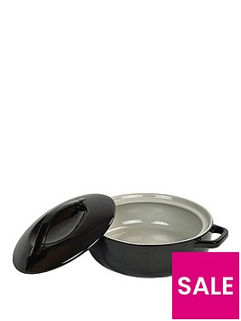 swan-shallow-round-casserole-black