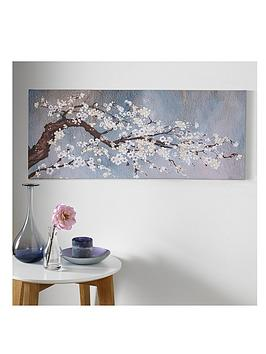 Product photograph showing Graham Brown Classic Orchid Canvas