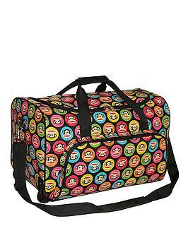 paul-frank-multicoloured-julius-monkey-spots-trolley-bag